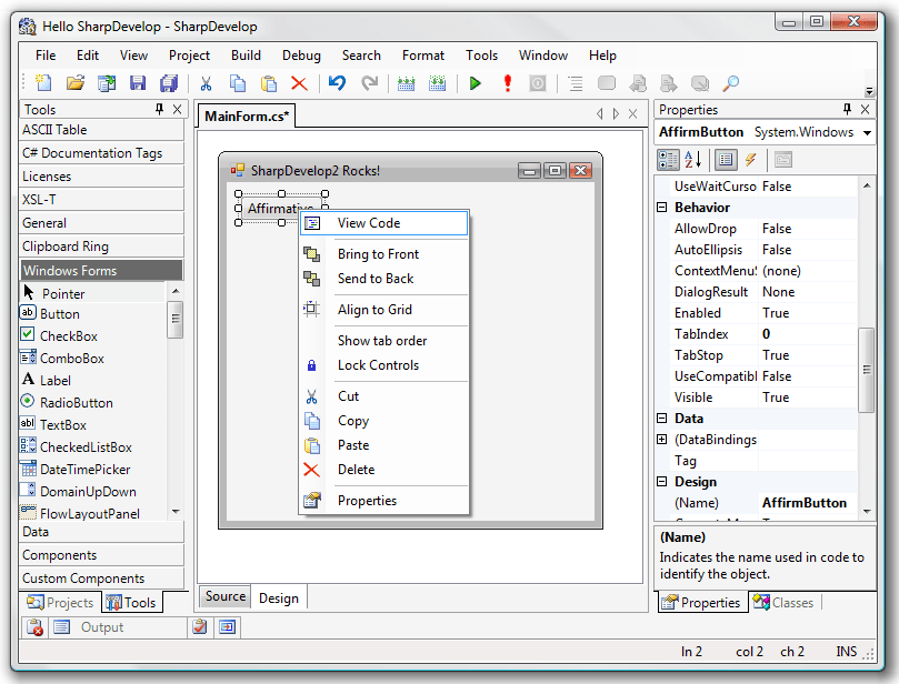 SharpDevelop2