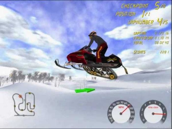 ski-doo Racing Demo