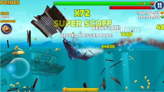 hungry shark evolution for android  cheat hungry shark evolution