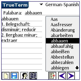 Spanish/German-Special PalmOS