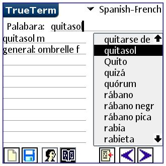 Spanish/French-Special PalmOS