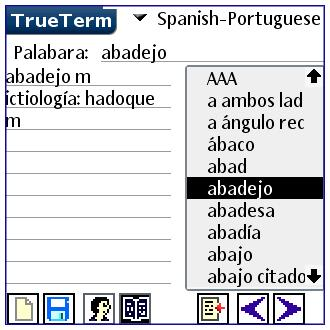 Spanish/Portuguese-Special PalmOS