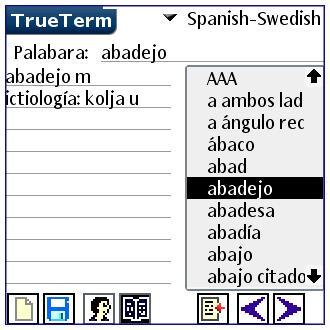 Spanish/Swedish-Special PalmOS