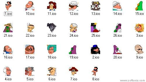 Day of The Tentacle Icons