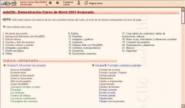 Curso Word 2003 Avanzado