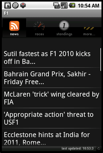 F1 Android