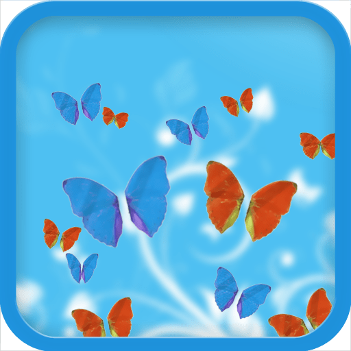 Butterflies 3D Live Wallpaper