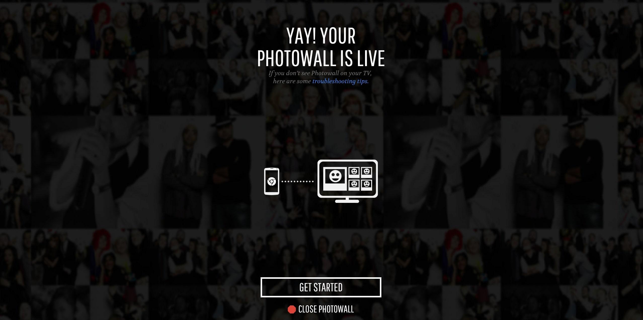 Photowall para Chromecast