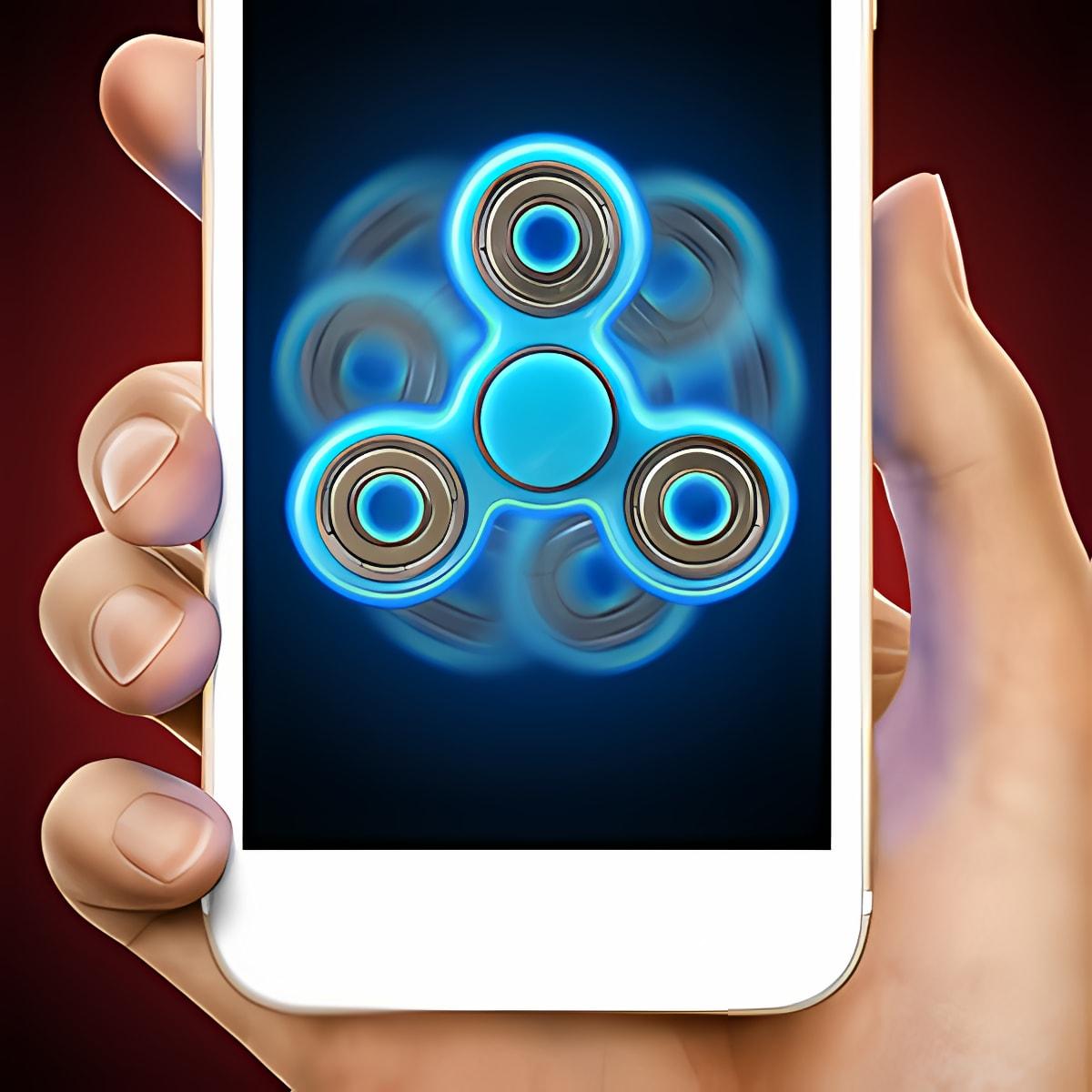Laser fidget hand spinner 1.1