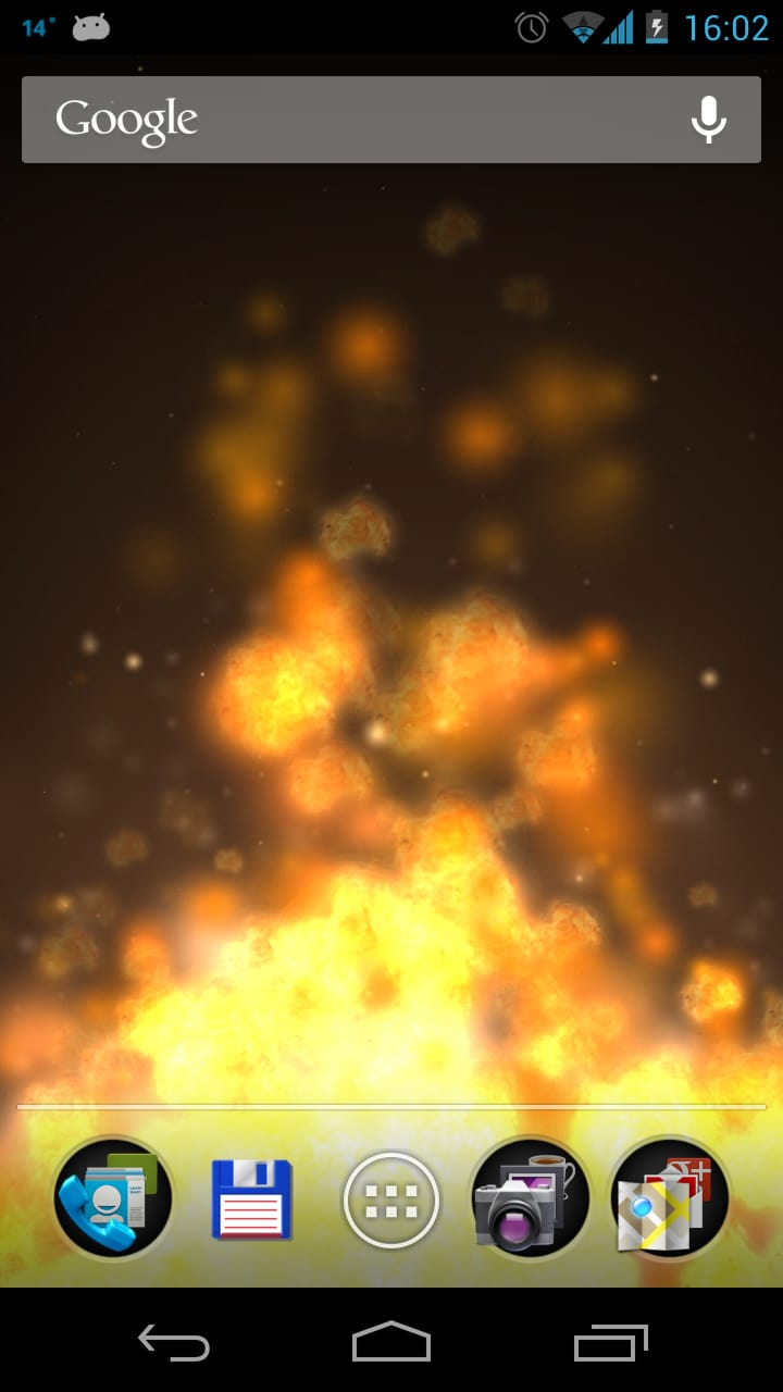 Flame 3D Live Wallpaper