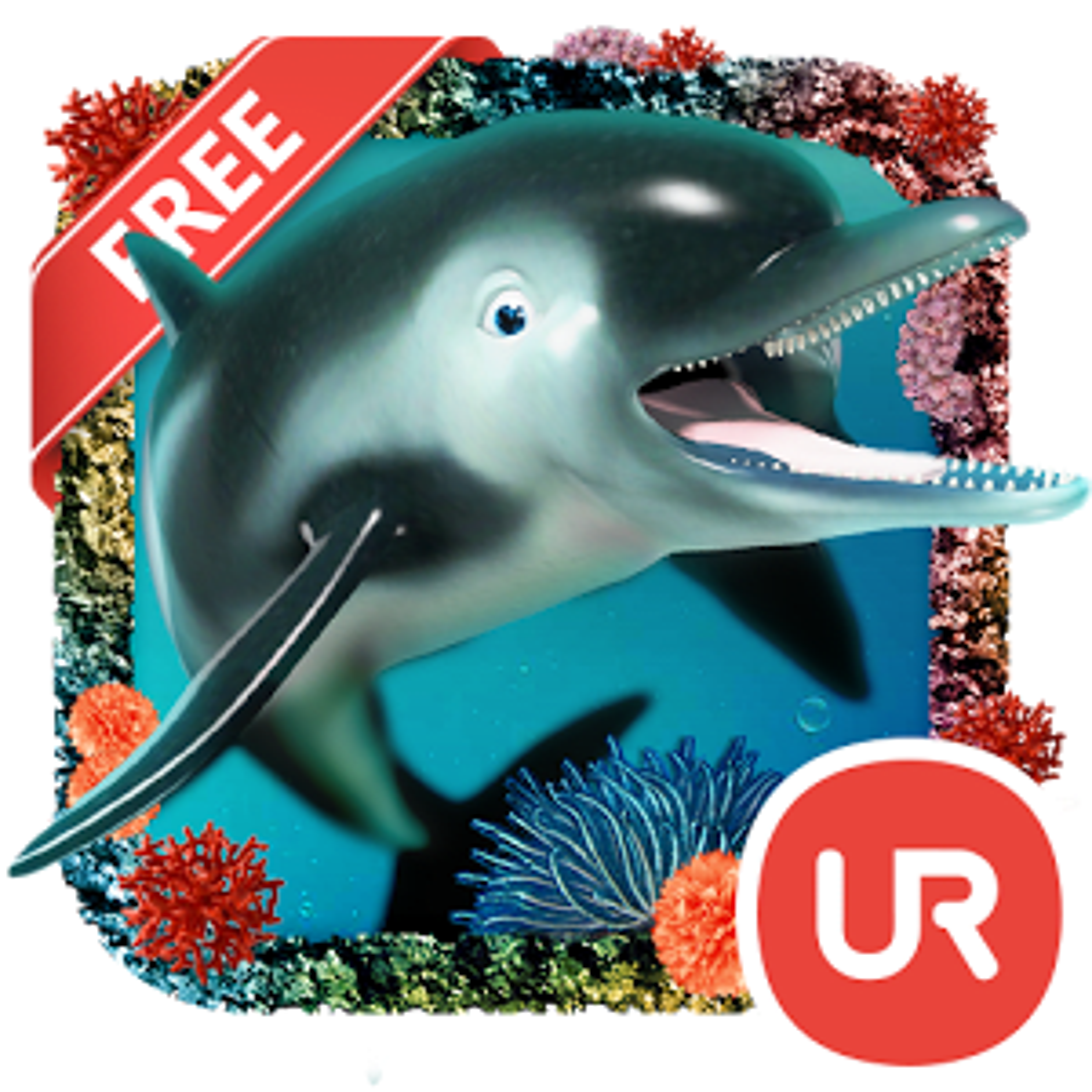UR 3D Océano Delfín Tiburón HD