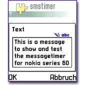 SMS Timer