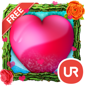 UR 3D Love Heart Live Theme 7.47.3.1