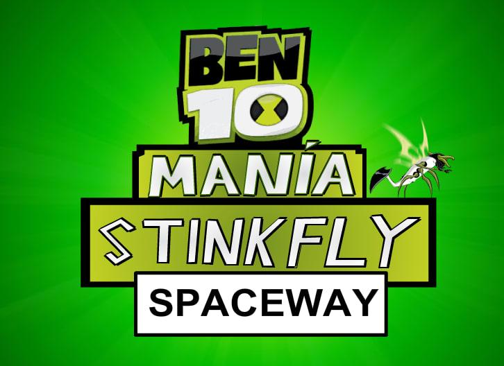 Ben 10 Mania Stinkyfly Spaceway