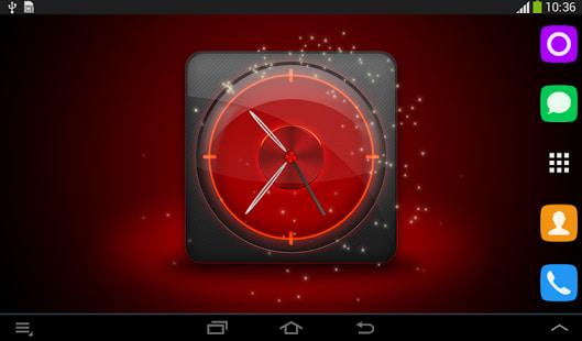 Reloj Rojo