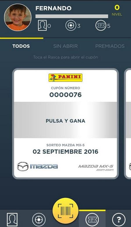Supergolazo Mazda - Panini