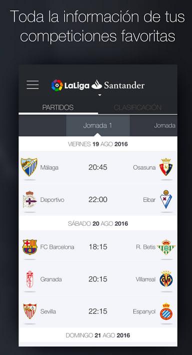 liga app