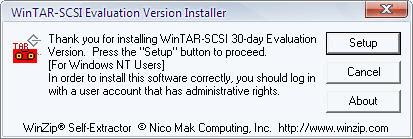 WinTAR-SCSI