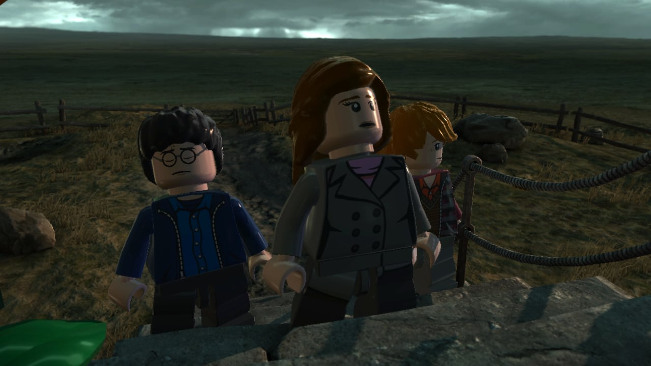how to start harry potter years 5-7 ps4