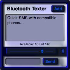 Bluetooth Texter