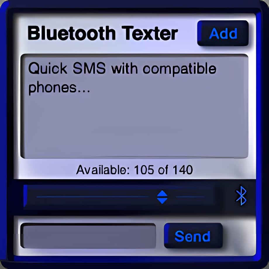Bluetooth Texter