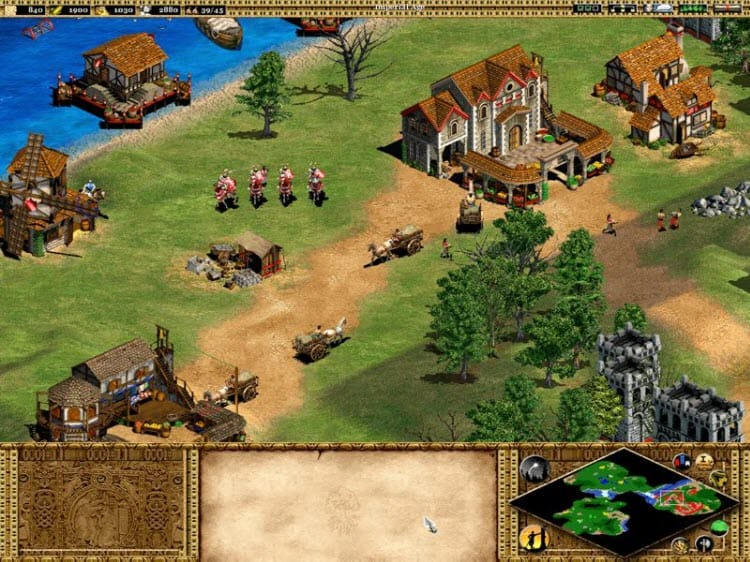 Age of Empires II: The Conquerors update