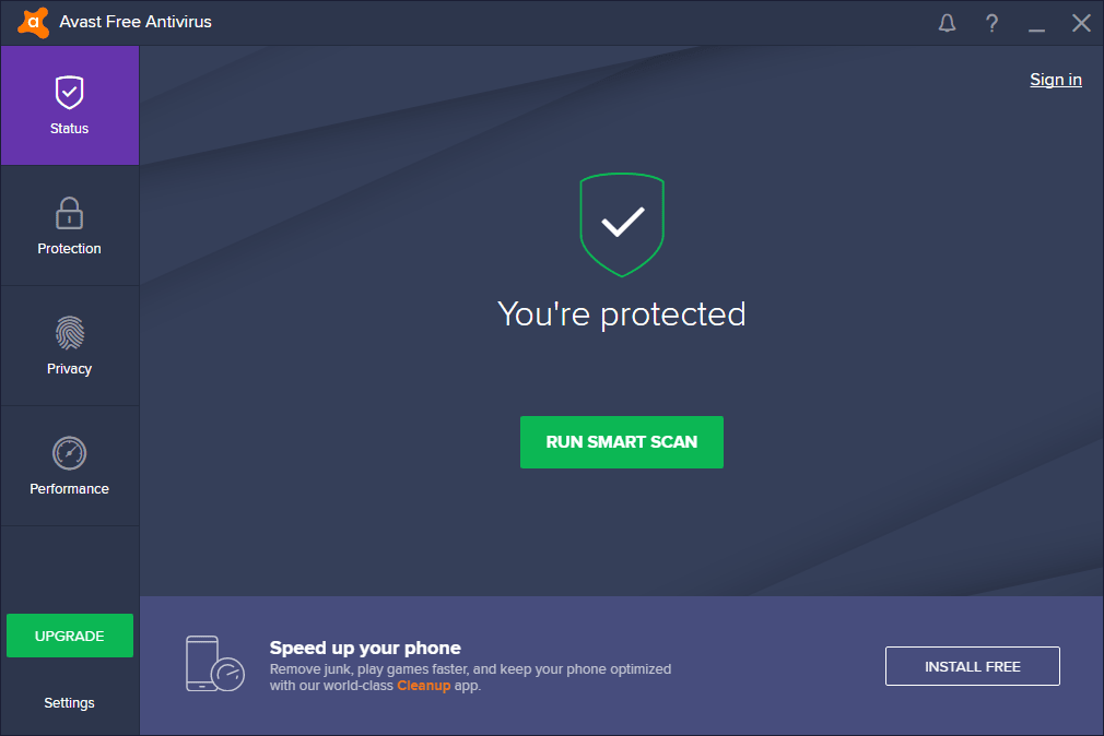Avast Free Antivirus - Download