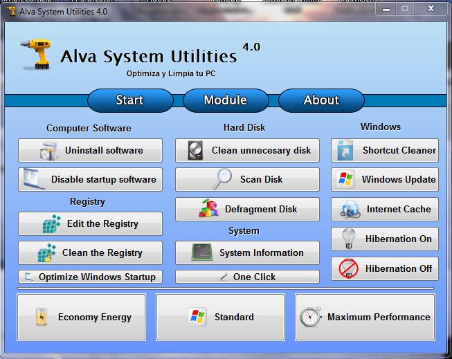 Alva System Utilities