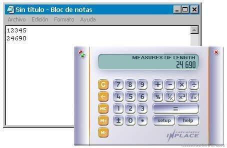 Inplace Calculator