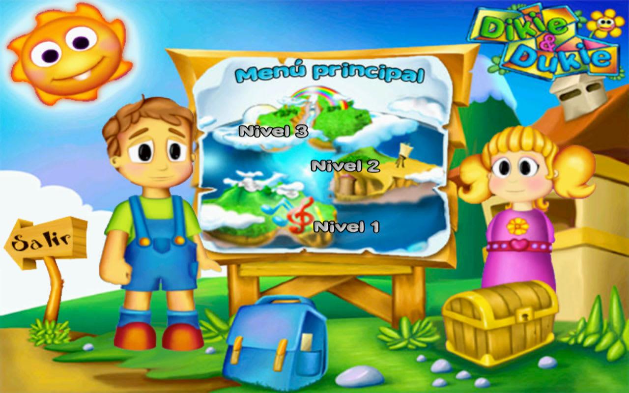 Mis Primeros pasos, juego para niños