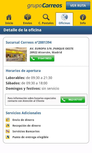 Correos Info