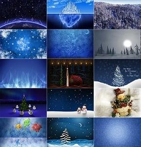 Vladstudio Christmas wallpaper pack
