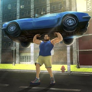 Hunk Big Man 3D: Fighting Game varies-with-device