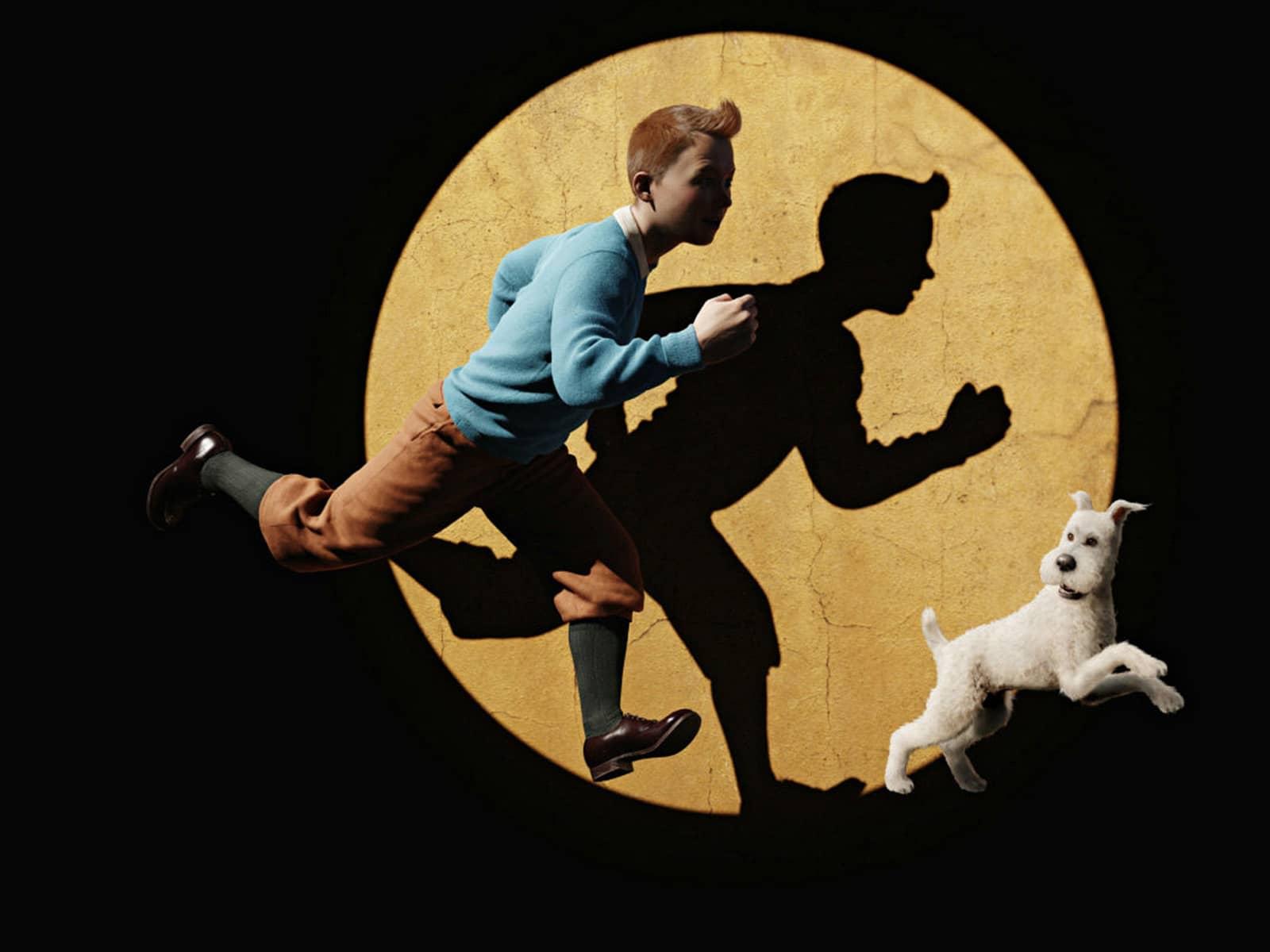 Fonds d'écran Tintin : Le Secret de la Licorne