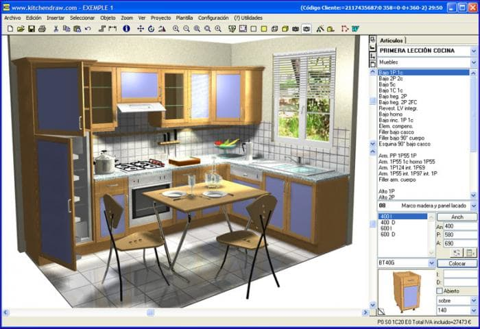 Kitchendraw descargar for Software para muebles