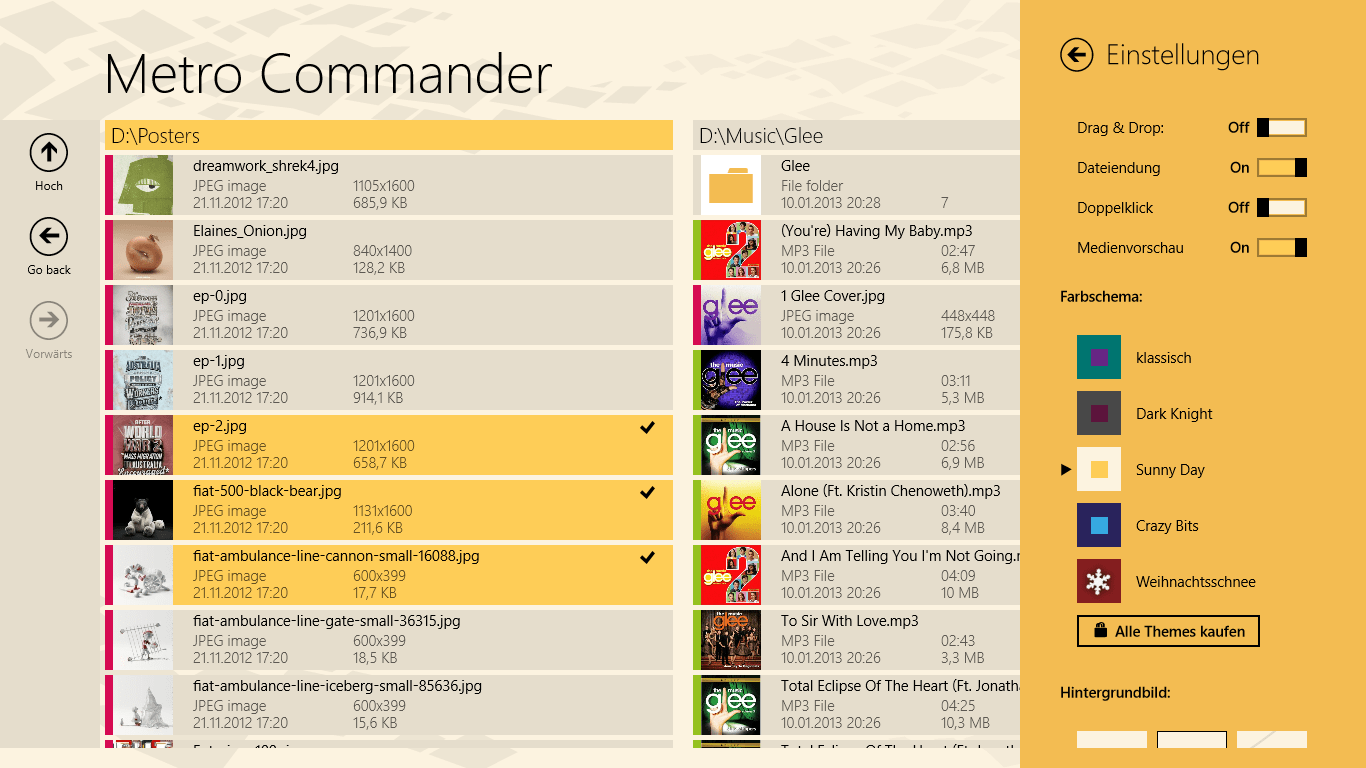 Metro Commander for Windows 10