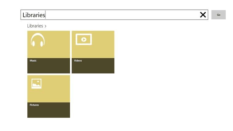 Libraries File Explorer App for Windows 10