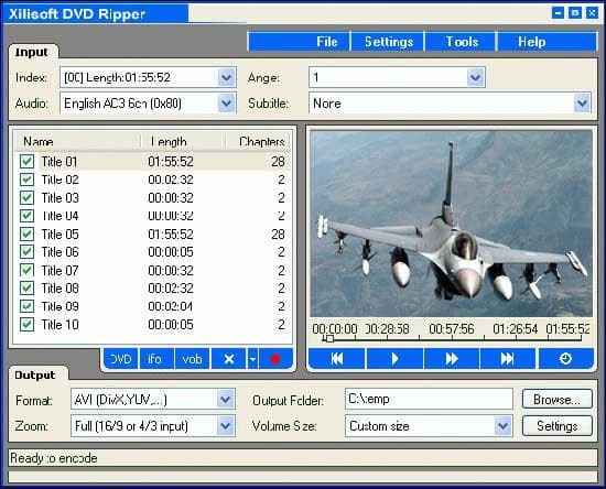 Xilisoft DVD Audio Ripper