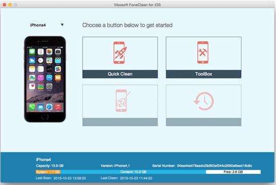 Vibosoft FoneClean for iOS