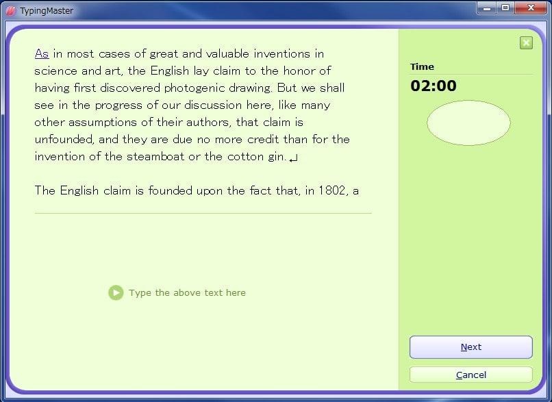 Typingmaster pro 7.01