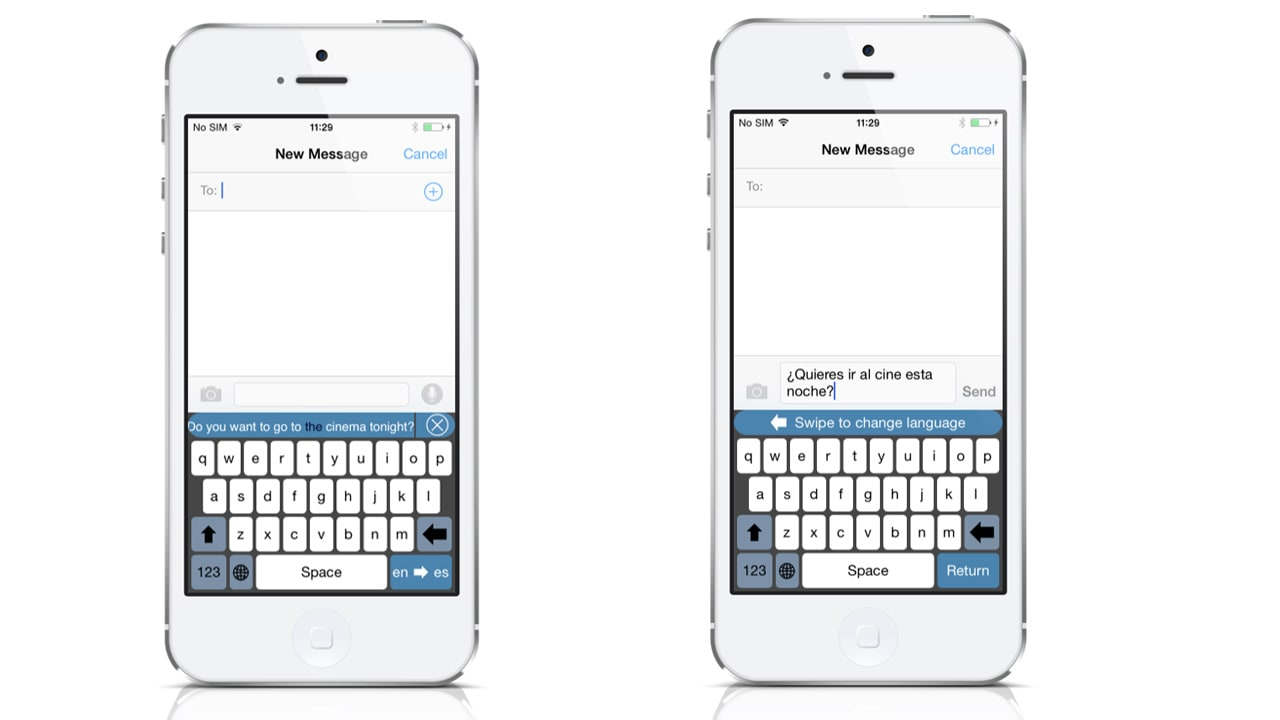 Translator Keyboard for iOS 8