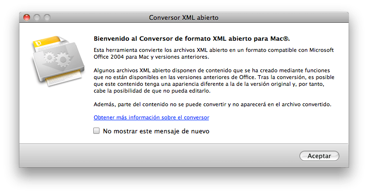 Office Open XML Converter