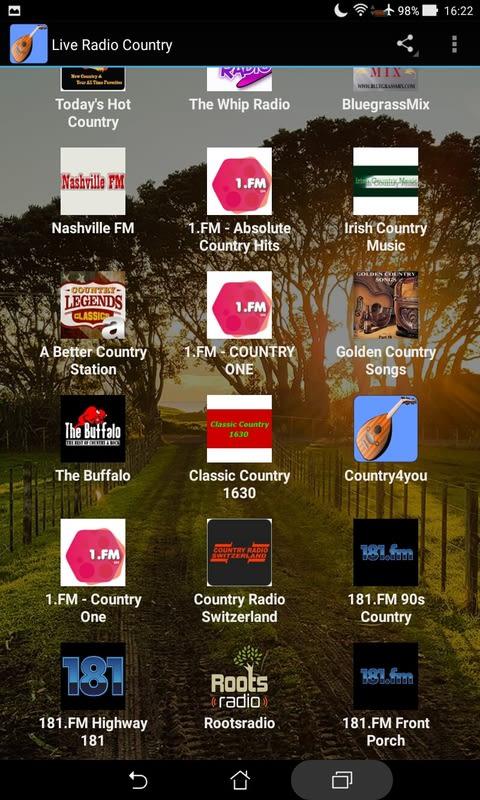 Live Radio Country