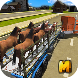 City Animal Transport Truck