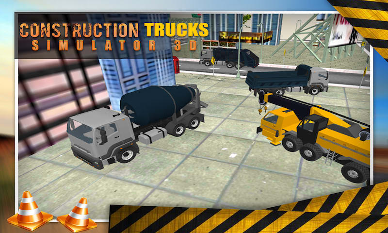 Construction Trucks Simulator