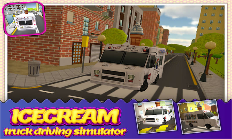 IceCream Delivery Truck Sim