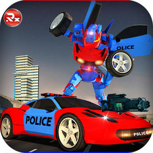 Police Robot Car Simulator