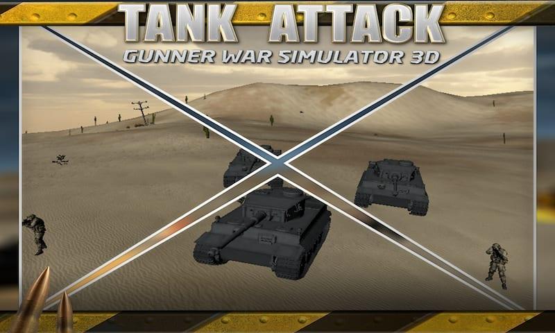 Tank Attack: Gunner War Sim