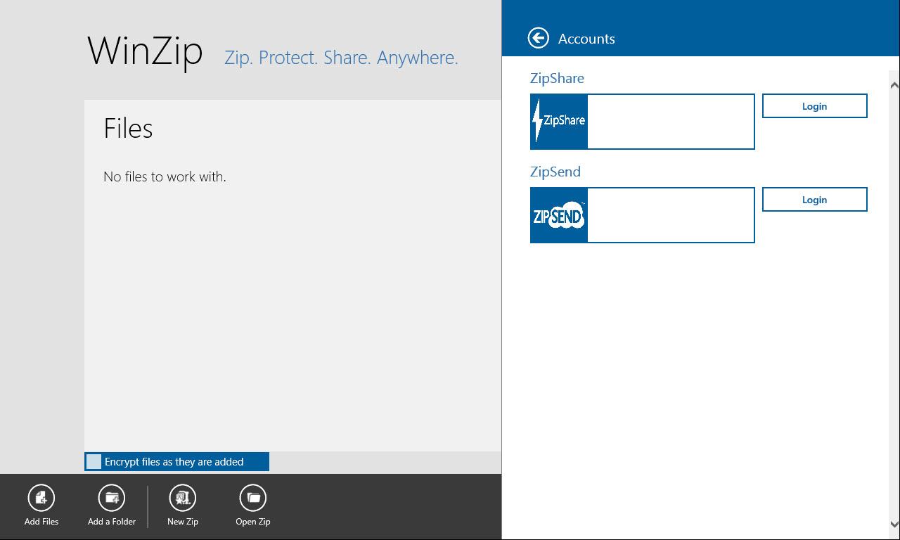 WinZip voor Windows 10