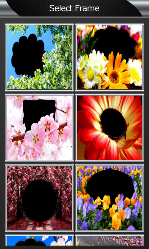 Blossom Flowers Photo Frames